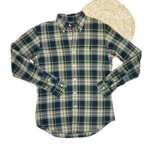 Ralph Lauren Men's Plaid Flannel Button-Down Shirt